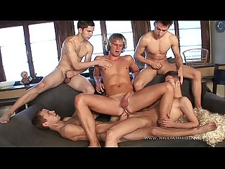 Gay resort wank party 11 part 1