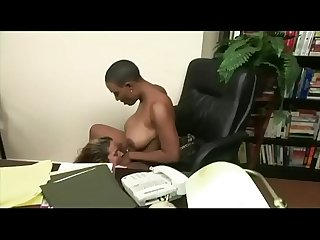 African american boss shoots her secretary he met on ebonylaid com to fuck