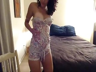 Sister in law strips on webcam for me more at wanktime com