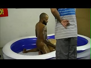Sexy bbw oil wrestling 1