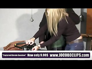 Jocoboclips com tied up handcuffed fucked in distress