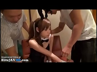 Jav teen in bunny outfit gangbang full at elitejavhd com