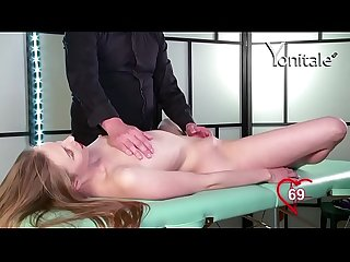 Yonitale orgasmic massage with hot blonde cindy y