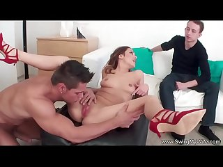 Swinging Wife From Europe