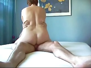 mature riding orgasm
