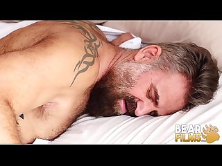BEARFILMS Silver Daddy Alfer Cuero Barebacked By Hung Cub