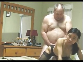 Grandpa fuck thai hooker in the hotel room