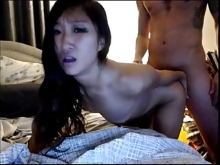 Hot asian ebony banged in las vegas from asianslutcams club