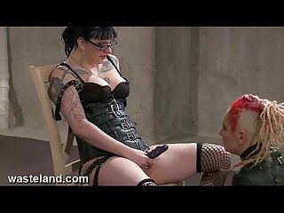 Wasteland bondage sex movie mistress panties pt 1