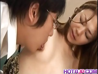 Sakura hirota gets fuck and cum at school