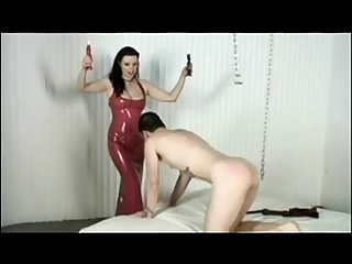 Dominatrix Slave Punished for Being Footslut: Free Porn pain - abuserporn.com