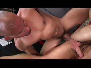 Antonio plows Caleb