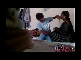 Indian desi bhabi enjoys younger guy ellalive com