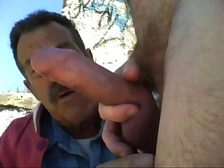 Cumsucking dad