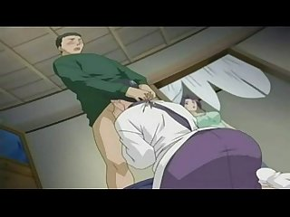 Anime Sister Gives Brother Blowjob
