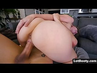 Perfect blonde babe Lena Paul with big ass and huge tits