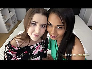 Isabella and Sybil tempt you with their blowjob skills