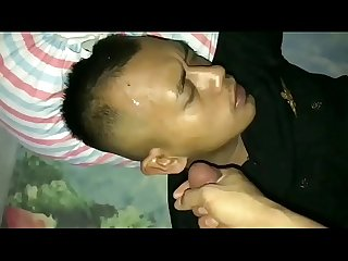 Indonesian Building Guard Fucked by Home Master