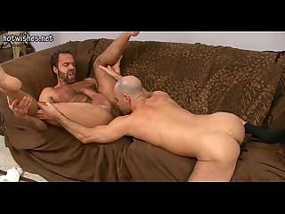 Two gays licking their cocks and screwing