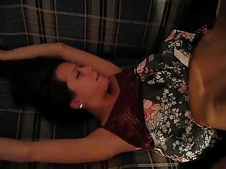 Milf gets 2 dicks while sleeping more on xxx69cameras.com