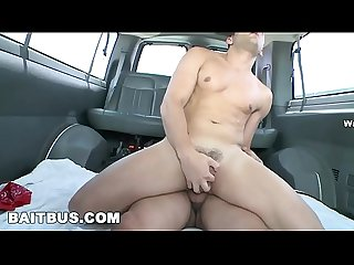 BAIT BUS - Alexis Fawx and Calvin Coons Trick Tattooed Straight Bait Ari Gypsy