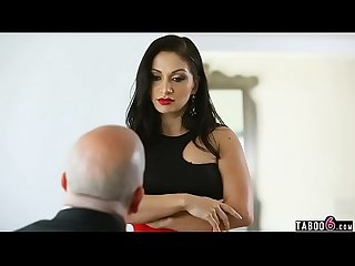 Stepbrothers DP fuck their dads new dumb MILF stepmom