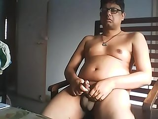 Abhishek loves to cum!