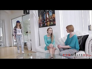 Very Hot Young Blonde Teen Athena Faris Lesbian Sex With Step Moms Hot Best Friend Natasha Starr