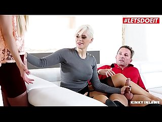 LETSDOEIT - Step Daughter Helps Daddy Make Mommy Squirt