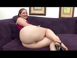 Redhead milf doing blowjob and get bang in big butt