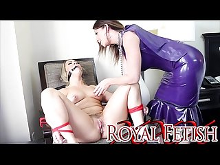 Sara Jay Gift Wraps Carmen Valentina For King Noire DOMINATION