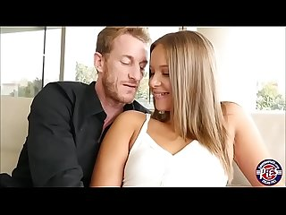 Liza Rowe fits huge dick in her pussy