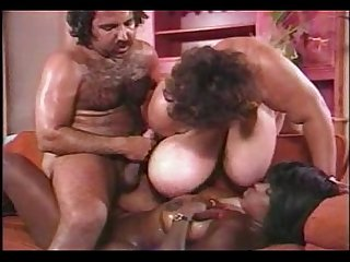 ron jeremy fucks big titted ebony - wearing fitness clothes