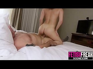 Teen step daughter fucked by dirty old man