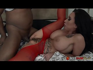 MDDS Lily Lane First Interracial Creampie Hardcore Fuck