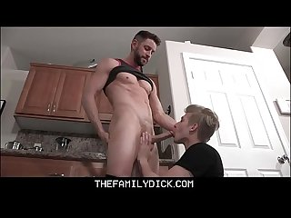 Twink Stepson Jace Madden And Hot Stud Stepdad Johnny Ford Family Sex With Family Room