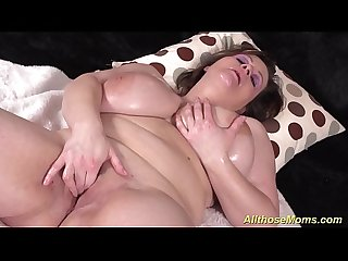 horny mom shows her extreme monster boobs