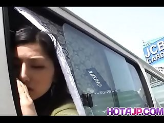 Ran Asakawa enjoys car sex until her pussy filled with jizz - More at hotajp com