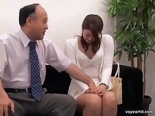 Adorable Jap rides a ramrod in hidden cam interview - www.xxxtapes.gq