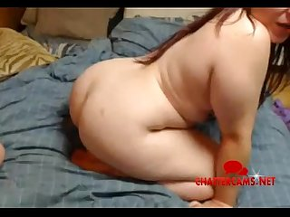 Fat Ass Redhead Gives Head - Chattercams.net