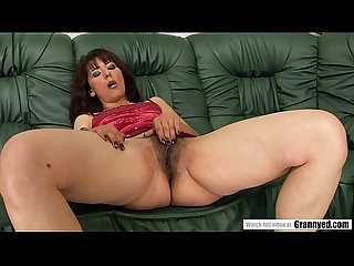 Hairy mature pussy pounded hard