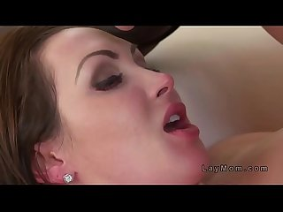 Big boobs Milf got rimmed and banged