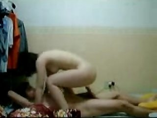 Chinese Malay Couple Having Sex on New Year Eve 2012