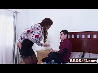 Juan Fucking His Stepmom's Ass To Avoid Punishment - Syren De Mer