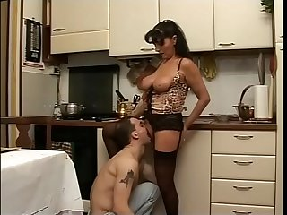 Milf with Big Boobs needs a young cock