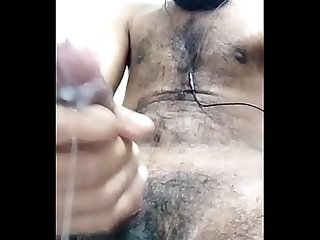 Big dick indian with creamy cum