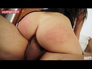 LETSDOEIT - Italian Brunette Milf Anal Destroyed At Casting By a Big Cock