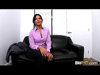 Big ass latina Rose Monroe's very first porno 2.1