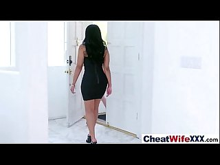 Hardcore Sex Tape With Real Horny Cheating Housewife (christie mary) video-08