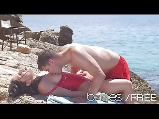 BAEWATCH AN XXX PARODY featuring (Ally Breelsen, Kristof Cale) - Babes